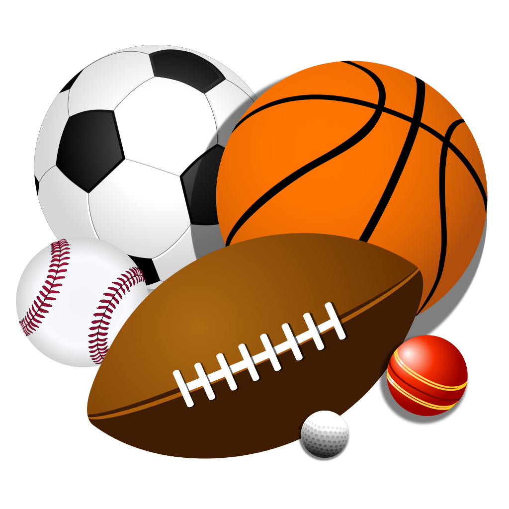 File:Sport balls.svg - Sports Balls Clipart