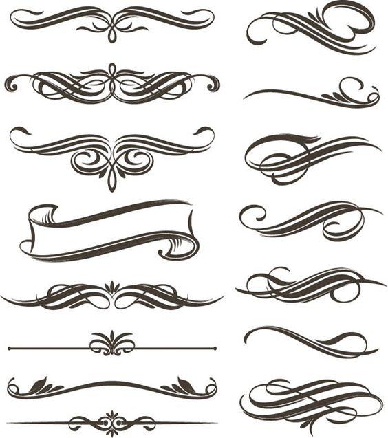 Filigree Clip Art | Continue Reading U00-filigree clip art | Continue reading u0026#39;Set of Floral Elements for Design Vector Graphic .-1