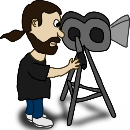 Video camera clipart 3