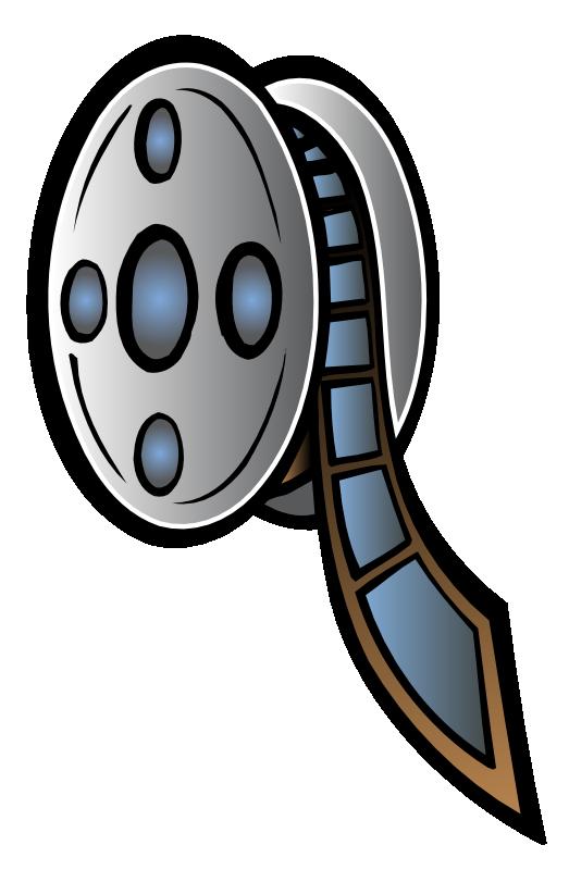 Film Reel7 - Movie Reel Clipart
