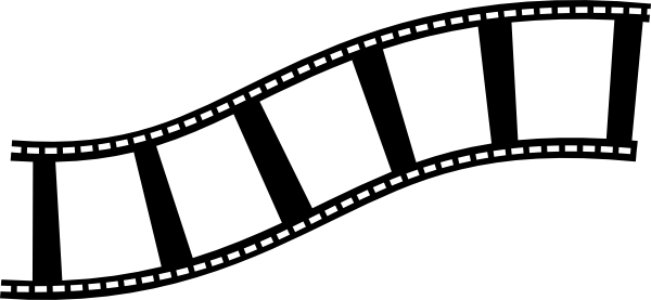 Film strip movies movie film and film on cliparts