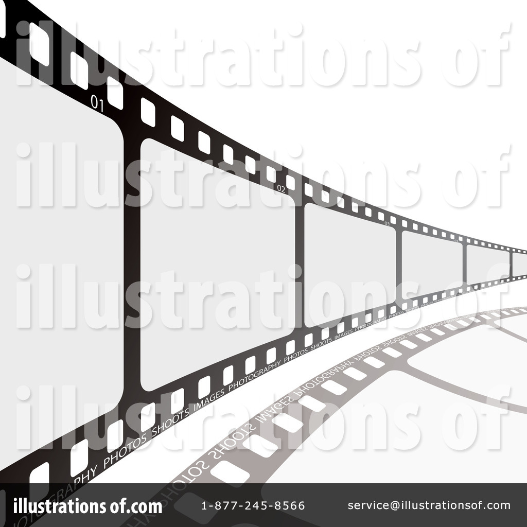 Royalty-Free (RF) Film Strip Clipart Illustration #103583 by michaeltravers