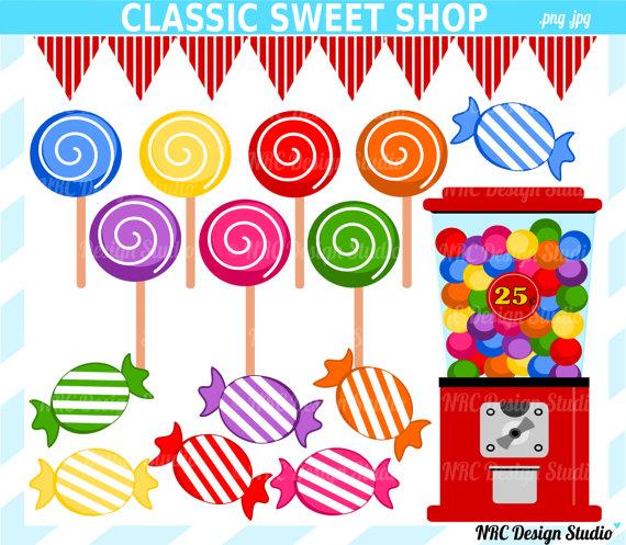 Final Sale Candyland Sweet Shop Clip Art-Final Sale Candyland Sweet Shop Clip Art Candy By Nrcdesignstudio-15