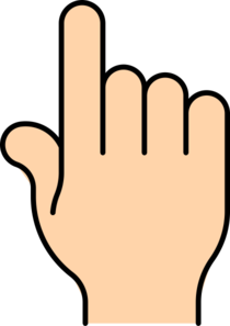 Finger Clipart-finger clipart-2