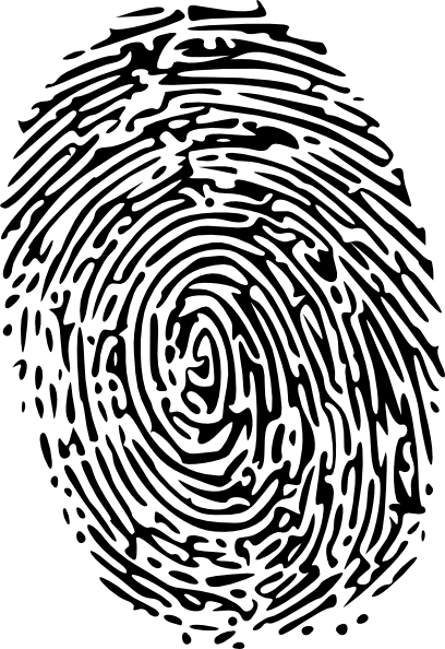 Fingerprint Clip Art At Clker Com Vector Clip Art Online Royalty
