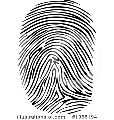 Fingerprint Clipart 1066194 Illustration By Seamartini Graphics