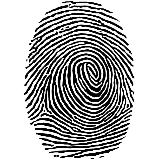 fingerprint clipart