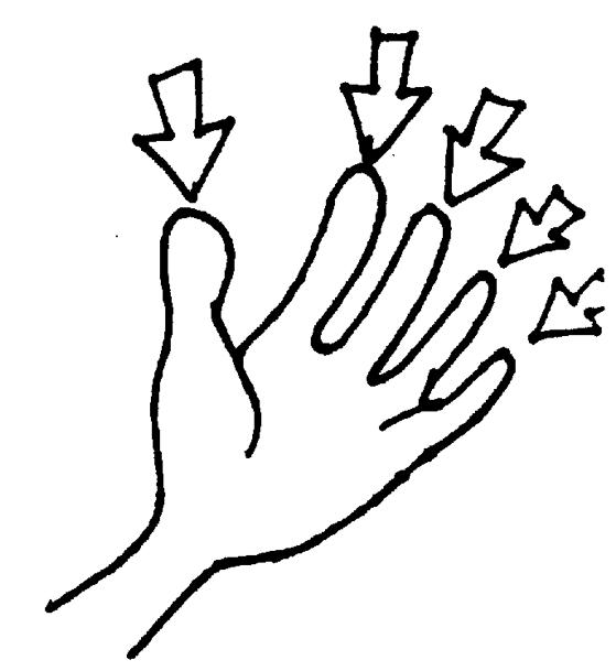 Fingers Clipart