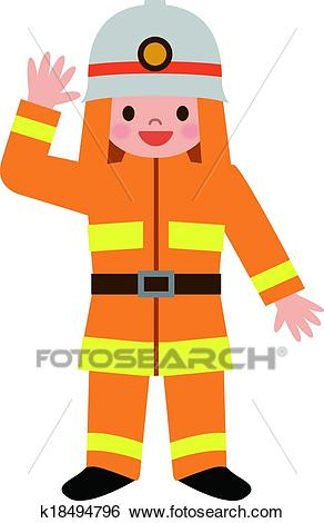 Clip Art - Children dressed in costumes -Clip Art - Children dressed in costumes of fir. Fotosearch - Search Clipart,  Illustration-14