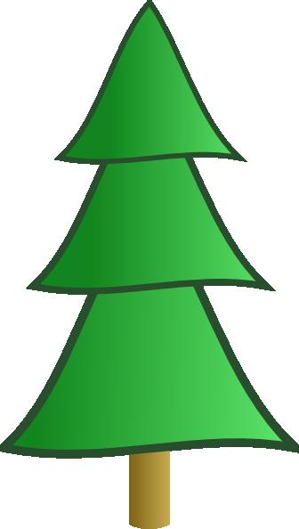 Fir Tree clip art - vector clip art online, royalty free public