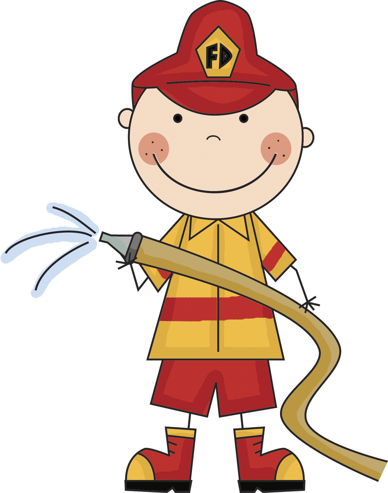 fire safety clipart