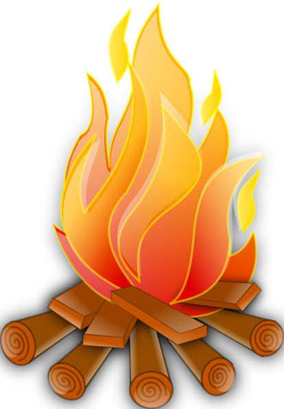 Fire 7 Clip Art At Clker Com Vector Clip Art Online Royalty Free