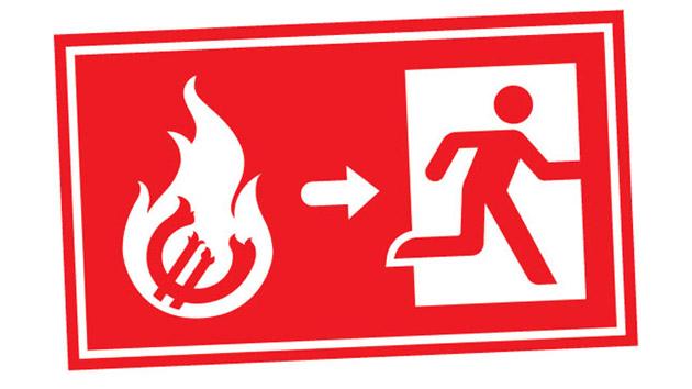 Fire Drill Procedure Clipart U0026middot-Fire Drill Procedure Clipart u0026middot; Stairs Sign Clipart-10