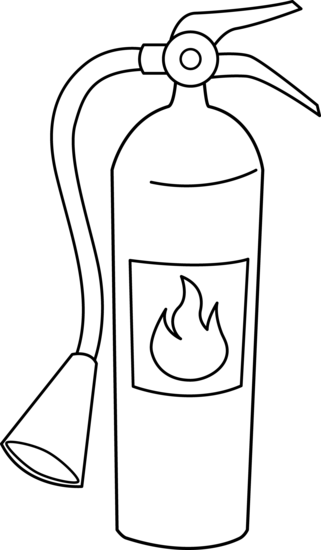 Fire Extinguisher Coloring .-Fire Extinguisher Coloring .-16