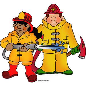 Fire Fighter Clip Art