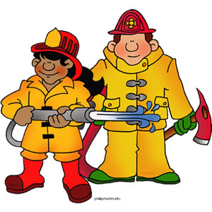 Fire Fighter Clip Art-Fire Fighter Clip Art-0