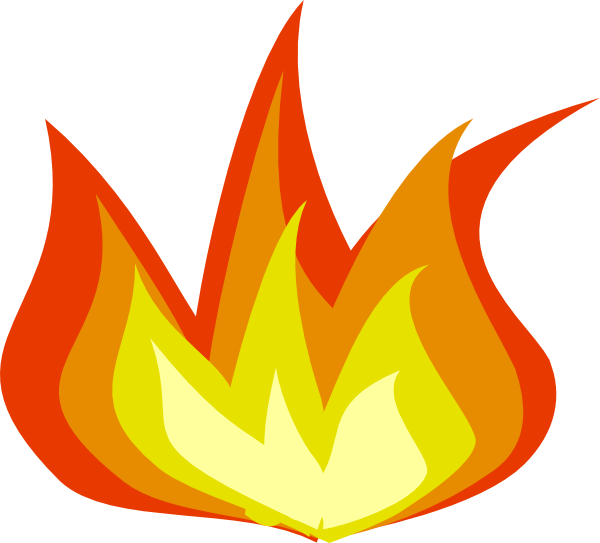 Fire Flames Clipart Clipart Panda Free Clipart Images