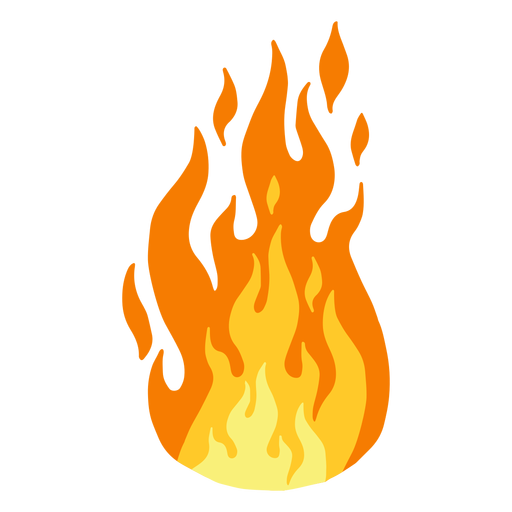 Fire flame clipart Transparent PNG