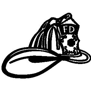 Fire Helmet 4 Clip Art Clipart Best
