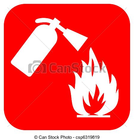 ... Fire safety logo