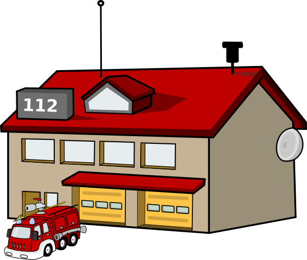 Fire Station Clip Art At Clker Com Vecto-Fire Station Clip Art At Clker Com Vector Clip Art Online Royalty-11
