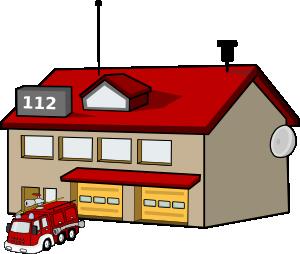 Fire Station Clip Art-Fire Station Clip Art-13