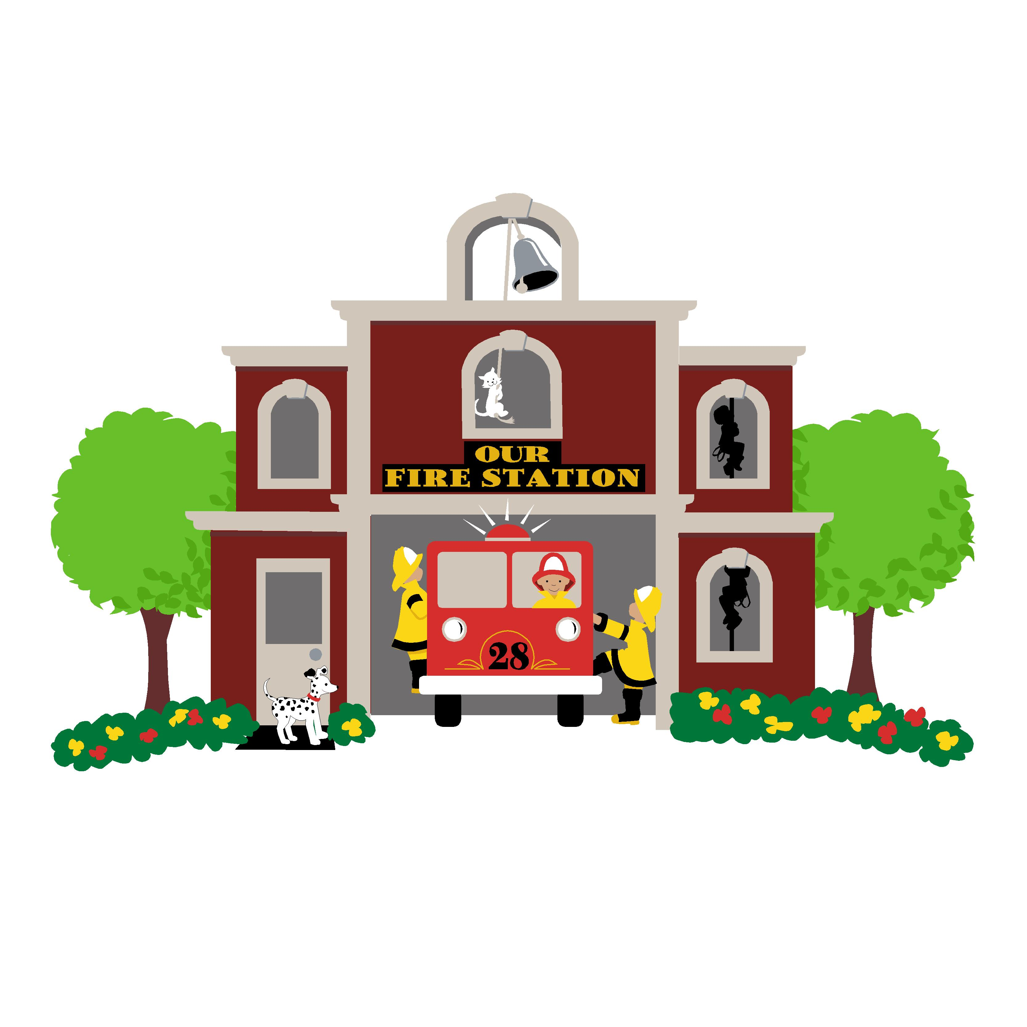 Fire Station Clipart Best-Fire Station Clipart Best-12