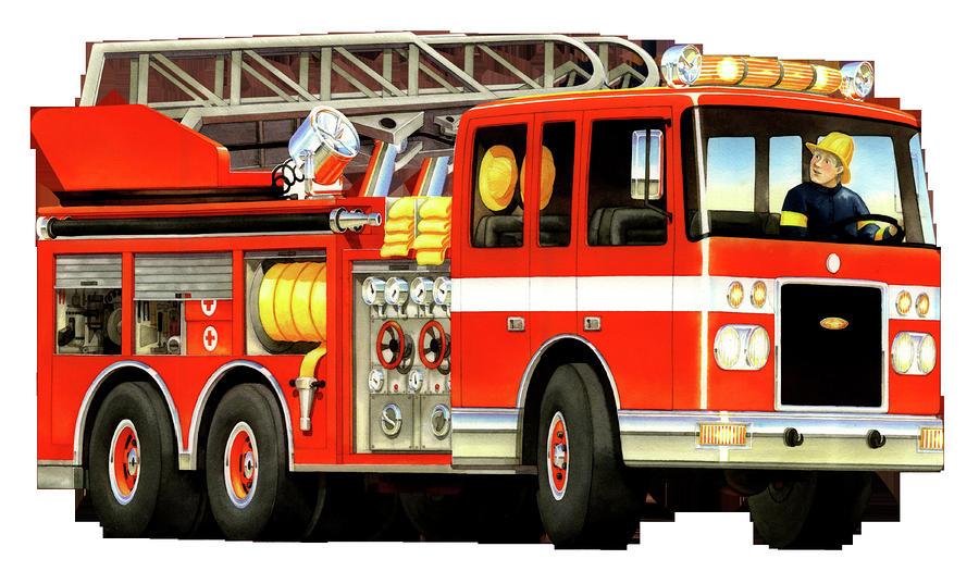 Fire truck fire engine clipart .-Fire truck fire engine clipart .-13