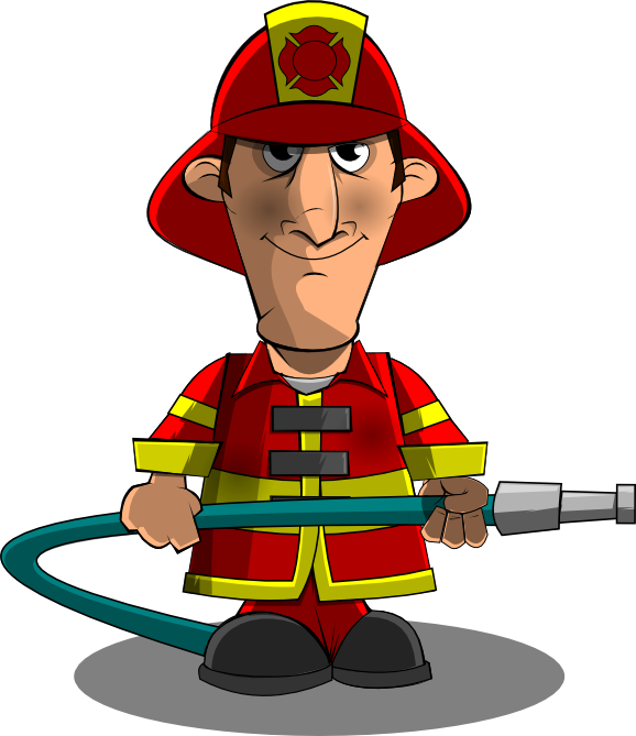 Firefighter clip art border free clipart images