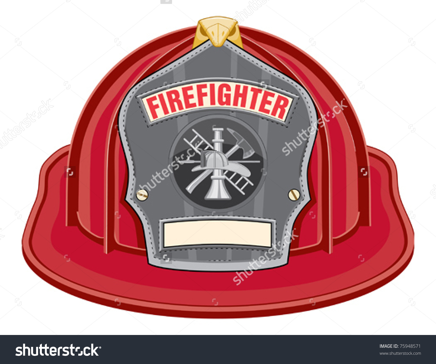 Firefighter Clip Art. Firefighter Helmet Black Is An ..