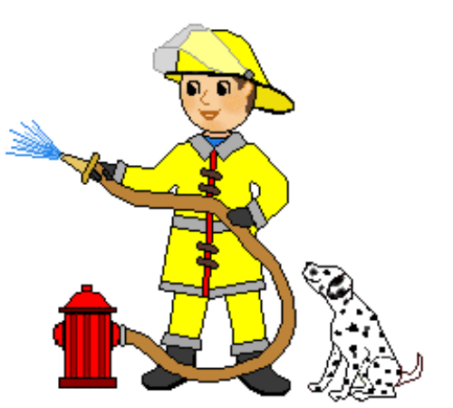 Firefighter clip art free images free clipart images