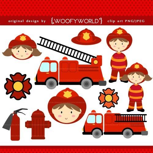 Firefighter Clipart For Kids