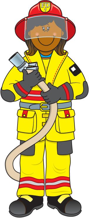 Firefighters clipart fire fighter clip art image 8