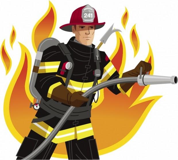 Fireman Firefighter Vector Clip Art Imag-Fireman firefighter vector clip art image-14