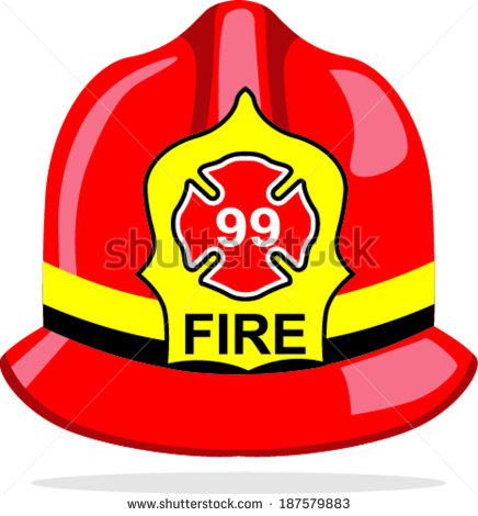 fireman helmet - Fireman Hat Clip Art