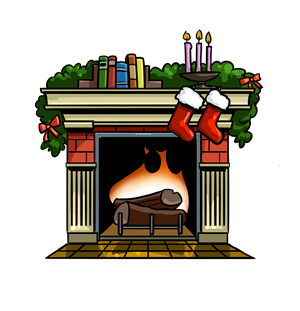 fireplace pictures - Clipart Fireplace