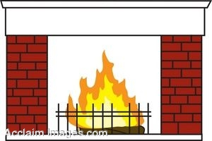 Fireplace clipart images clipartall