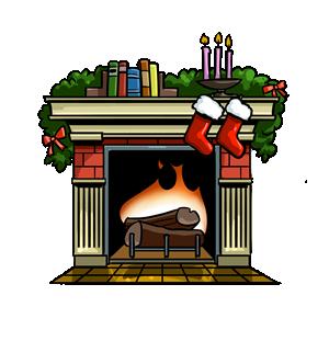 Fireplace Clipart Nieyekkia Png