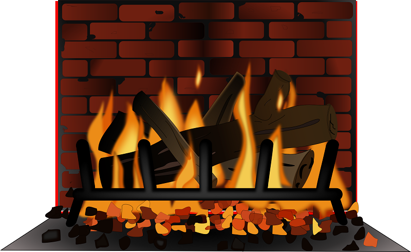 Fireplace clipart tumundografico 2