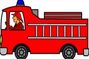 Firetruck free fire engine clipart