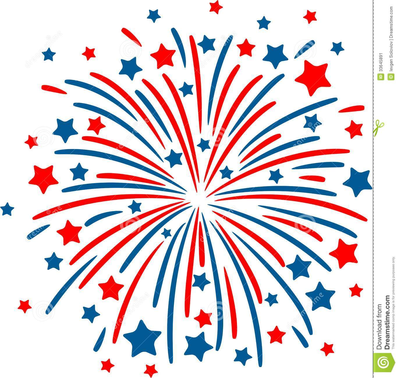 firework clipart - Clipart Of Fireworks