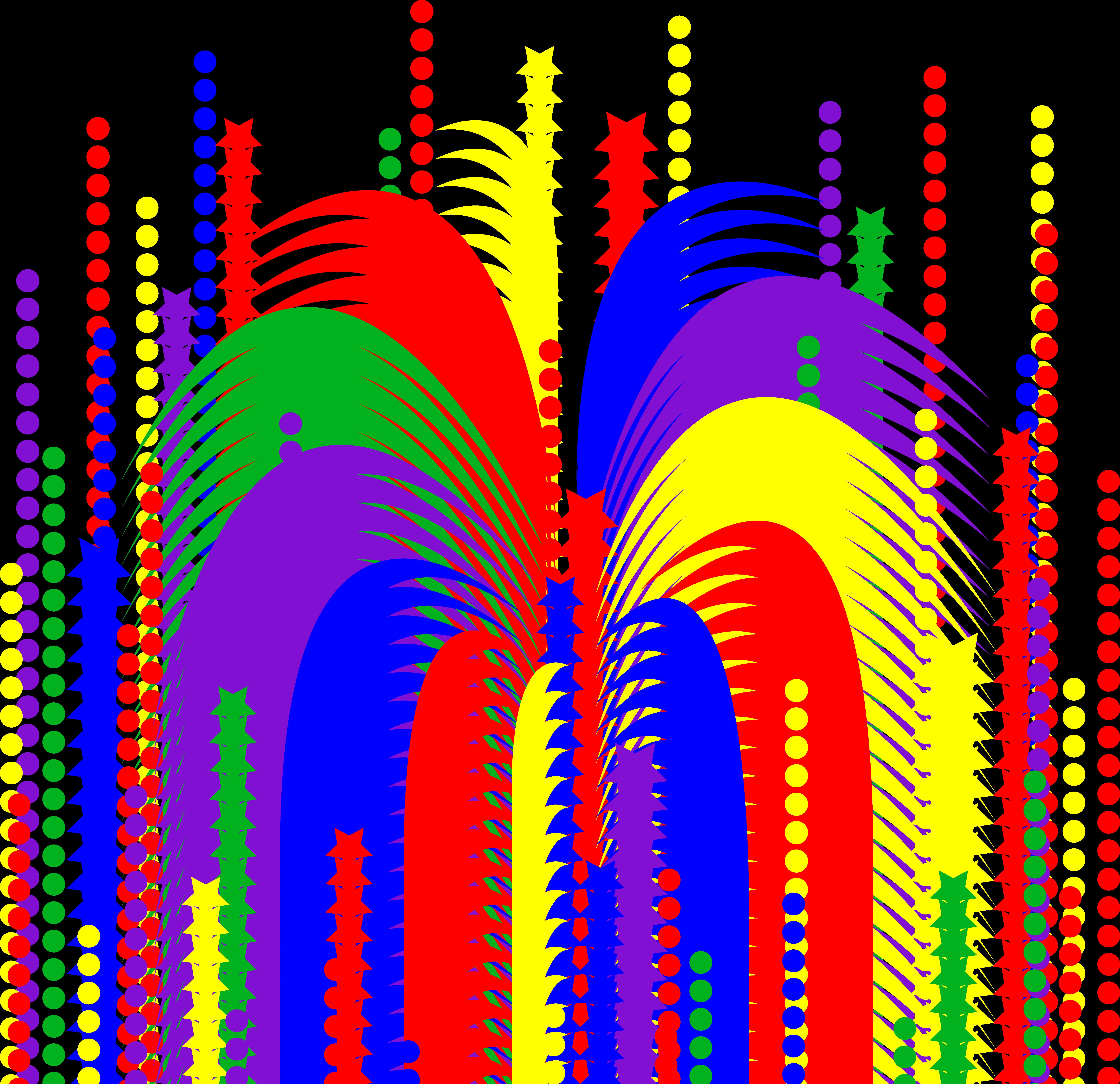 fireworks clipart no backgrou - Fireworks Clip Art