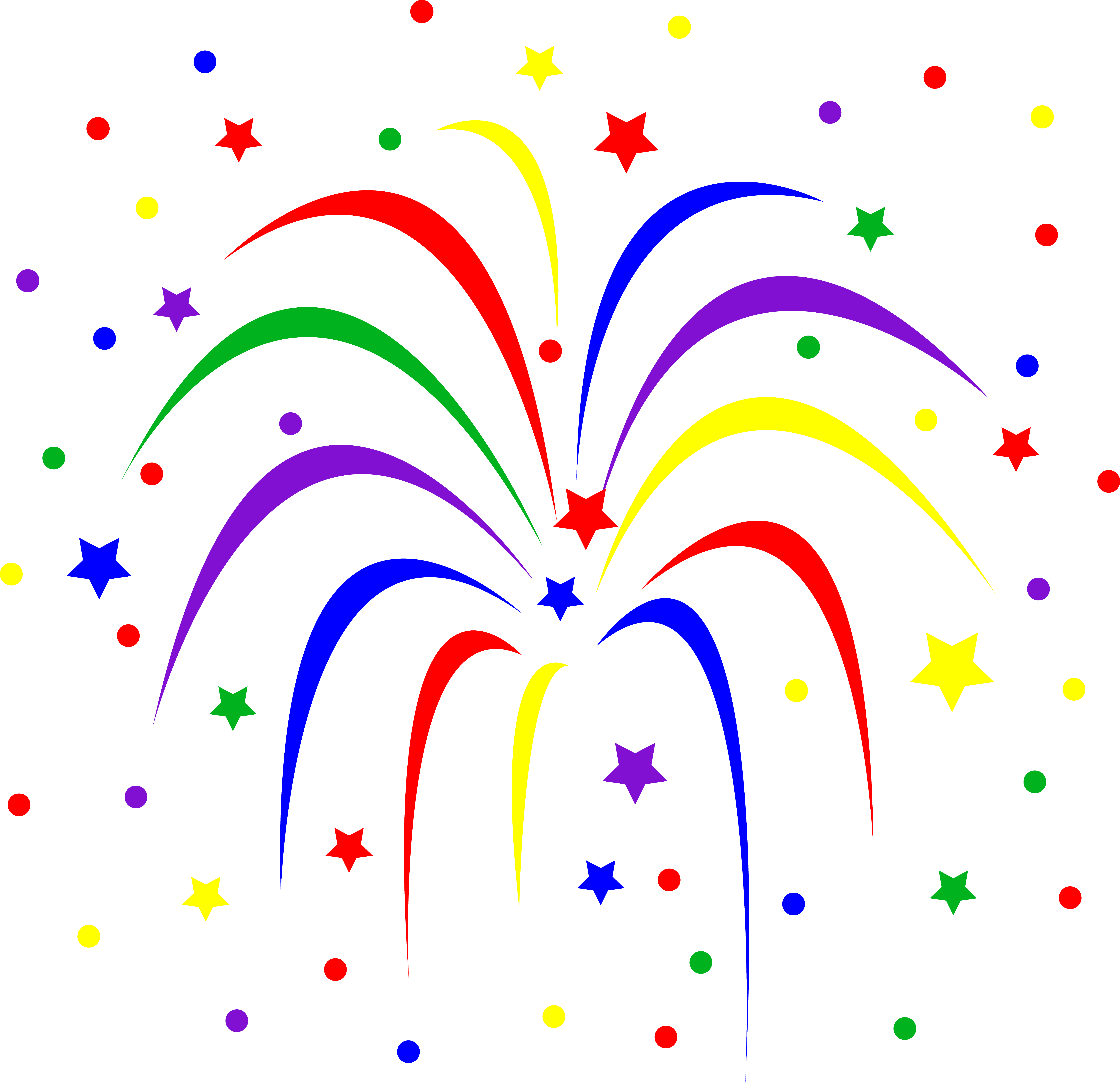 Fireworks Clipart No Background-fireworks clipart no background-7