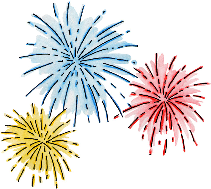 Fireworks Clipart With Animat