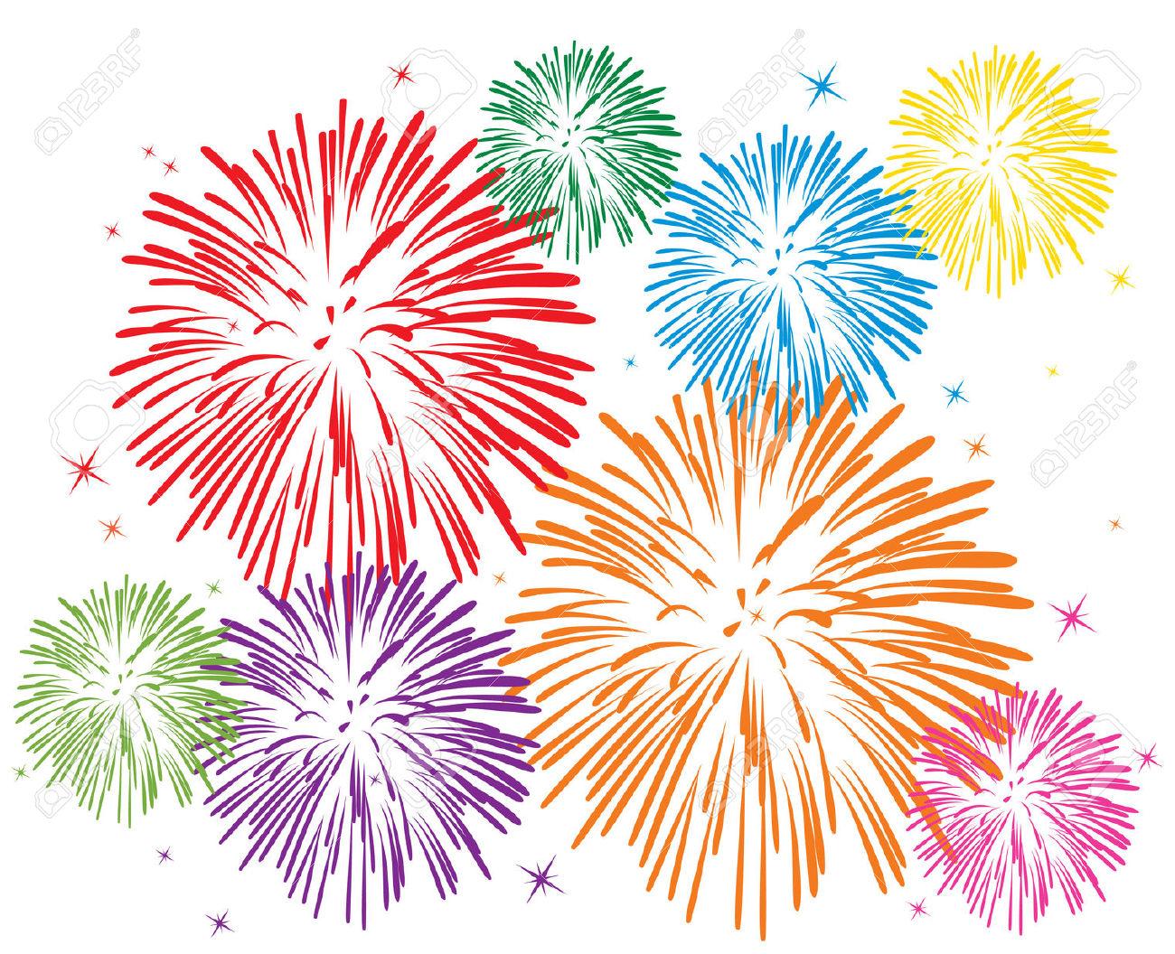 Fireworks Clipart #6726