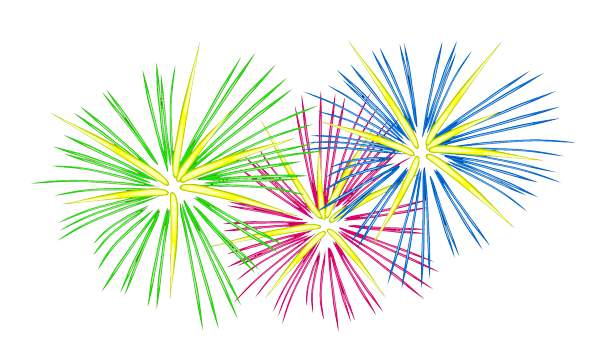 Fireworks clipart free clip .
