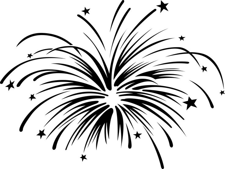 Fireworks Clipart With Animat - Fireworks Clipart