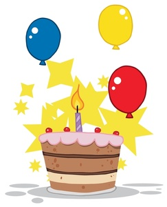 First Birthday Clip Art Images .