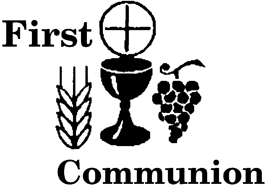 First Communion Clip Art