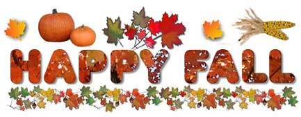 First Day of Autumn Clip Art. - First Day Of Fall Clip Art